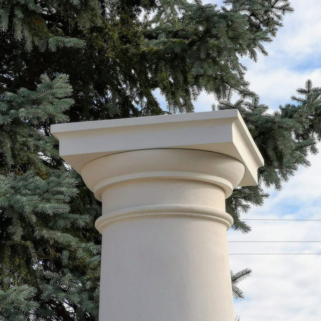 KOLUMNA BETONOWA TOSKANSKA – FILAR 45/37 cm 260-310cm wysokości (w całości)