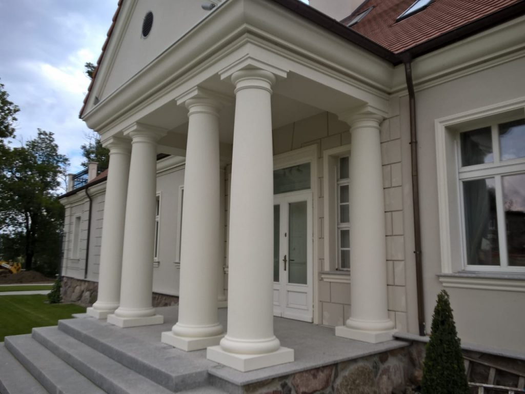 KOLUMNA BETONOWA TOSKAŃSKA – FILAR 50/40 cm 280-330 cm (o trzonie wykonanym w całości)